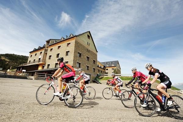 La Cronoescalada a Port Ainé, el evento deportivo estrella de la estación del Pallars Sobirà FOTO: FGC
