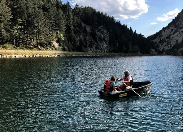 Las barcas es una de las actividades más infantiles