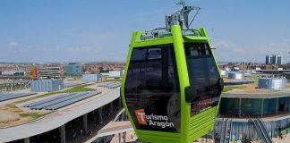 El telecabina de la Expo de Zaragoza será desmontado por Aramón, que deberá decidir qué uso darle