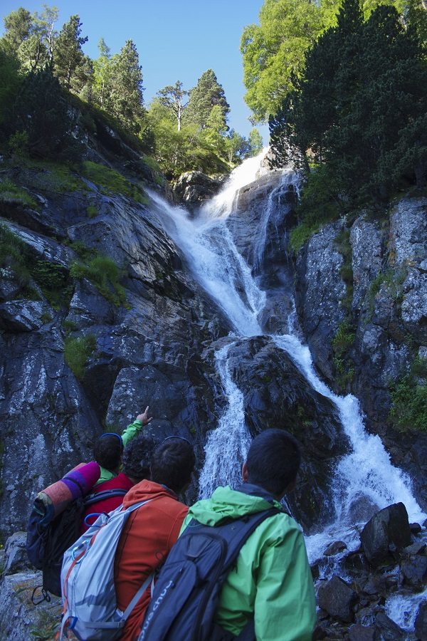 Naturaleza en estado puro en la Vall de Núria FOTO: FGC