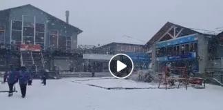 La estación argentina de Cerro Catedral, inmersa en una gran nevada