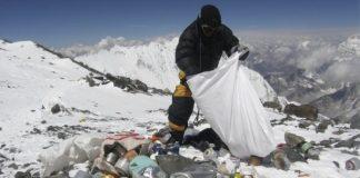 La acumulación de basura en el Everest es un problema que aumenta progresivamente y de muy difícil solución