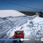 La meta de la Límite y Cicloturista al Veleta será este año entre dos paredes de nieve