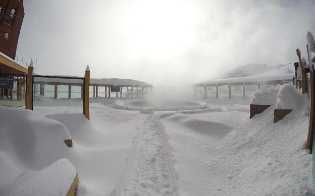 La temporada se estrenará con mucha nieve