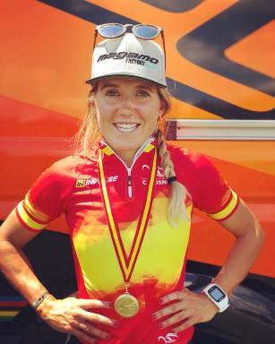 Claudia Galicia, campeona de España élite
