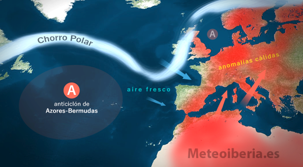 El tiempo más fresco y calor contenida incide en el tercio norte