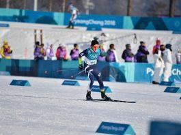 Martí Vigo en acción durante los pasados Juegos de Pyeongchang. FOTO: RFEDI/Spainsnow