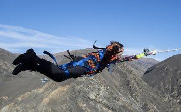 Nevis Catapult, una explosión de adrenalina en Queensland. FOTO: James D. Morgan