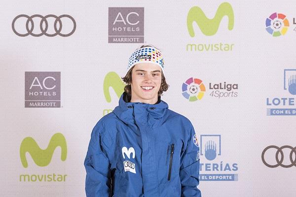 Thibault Magnin se ha clasificado para la final de big air del Mundial Junior de Cardrona. FOTO: RFEDI Spainsnow