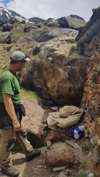 El montañero debe preservar el entorno