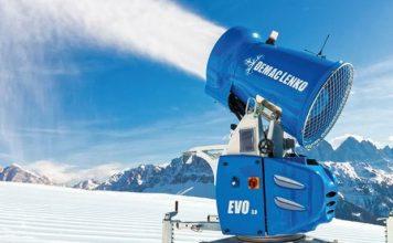 Snow4ever, asegura la empresa, es capaz de producir nieve a temperaturas muy altas