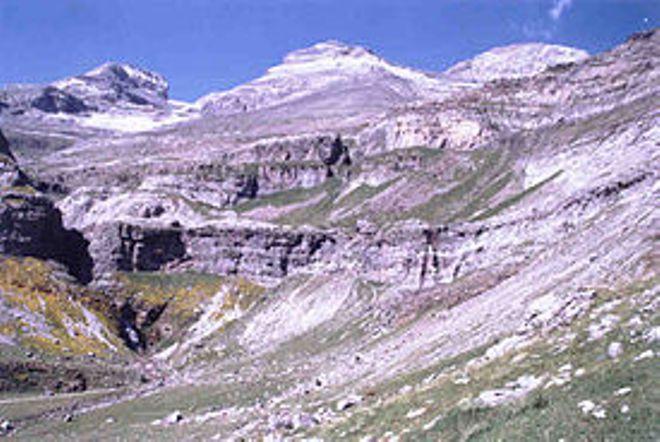 Una imagen del Monte Perdido