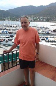 Eugenio Baturone, en su casa de El Port de la Selva