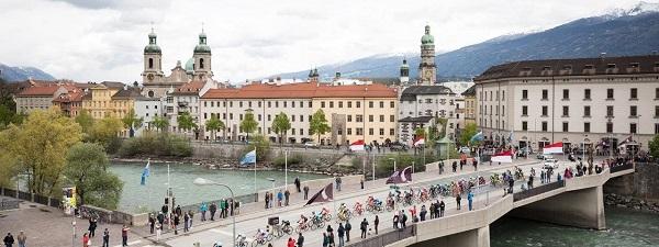 Innsbruck será la tercera ciudad austriaca en acoger un Mundial de ciclismo en ruta después de Villach 1987 y Salzburgo 2006 FOTO: www.tyrol.com