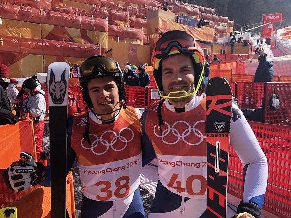 Juan Del Campo y Quim Salarich, los españoles más destacados en Cerro Castor. FOTO: RFEDI Spainsnow
