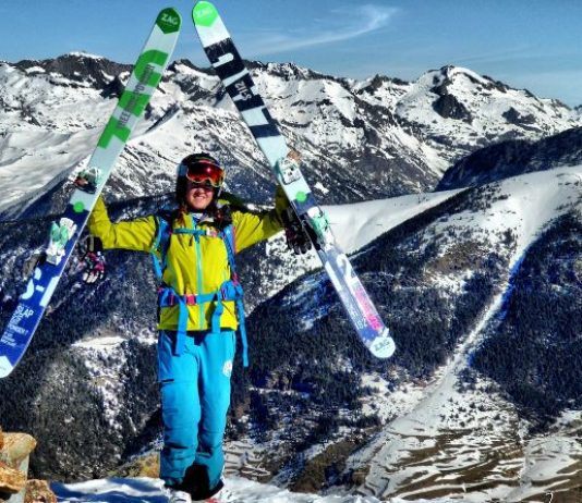 Ruth Frutos da el salto al Freeride World Tour