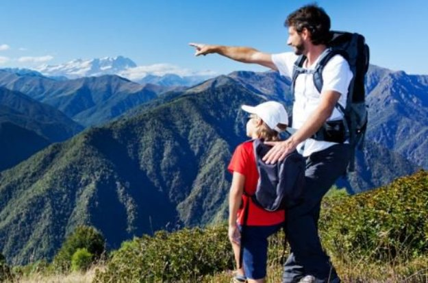 Buena educación en montaña
