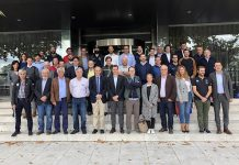 Foto de familia tras la celebración de la Asamblea General de la RFEDI. FOTO: spainsnow