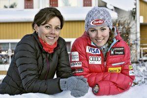 Mikaela y su madre, Eileen