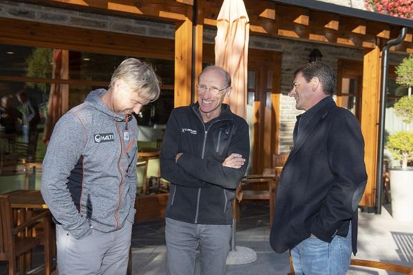 Blanch, con Skaardal y Waldner