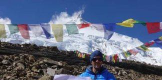 El alpinista de Partes del Vallés (Barcelona), que seguirá su proyecto solidario en primavera, está satisfecho de las tres cimas conseguidas hasta ahora pese a la retirada del Dhaulagiri