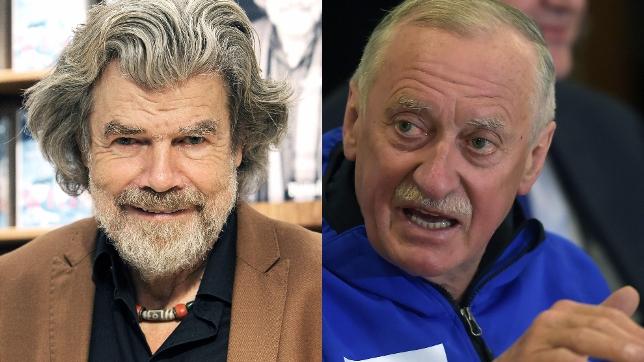 Los alpinistas Messner y Wielicki reciben el galardón por sus trayectorias deportivas