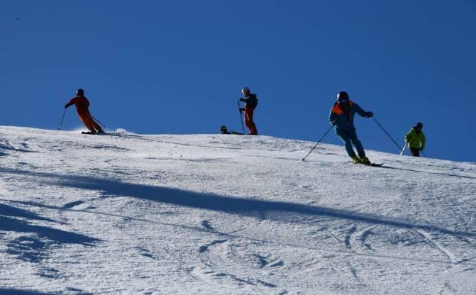 Los entrenamientos compartirán pista con el esquí de ocio