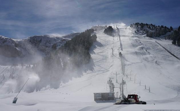Inminente apertura de la que podrá ser la más larga de la historia del esquí en Masella