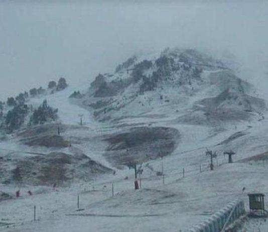 La nieve ha cambiado completamente el paisaje tal y como se aprecia en Baqueira Beret