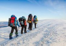En la montaña conviene siempre ir acompañado