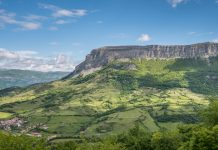 Una imagen del monte Beriain, en Navarra FOTO: Wikipedia