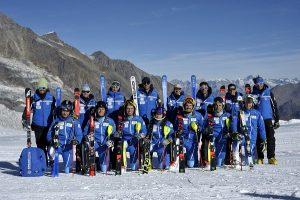 El equipo RFEDI de alpino al completo. FOTO: RFEDI/Spainsnow