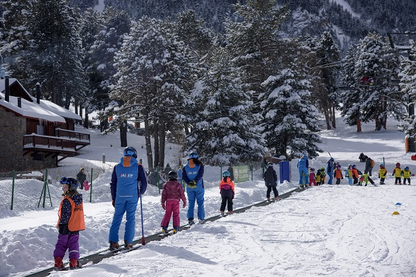 Hasta 15 km esquiables para empezar la temporada. FOTO: FGC