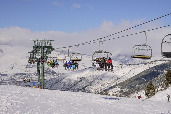 """El sistema """"La Molina Check In"""" ahorrará tiempo a los esquiadores. FOTO: FGC"""