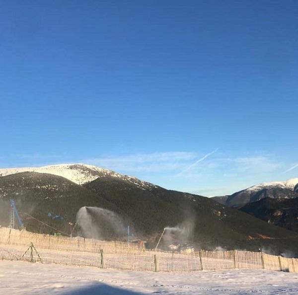 La estación del Solsonés propone 50 km de pistas esquiables