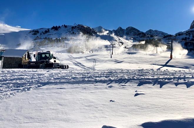La estación andorrana asegura la nieve en Pas de la Casa Grau Roig