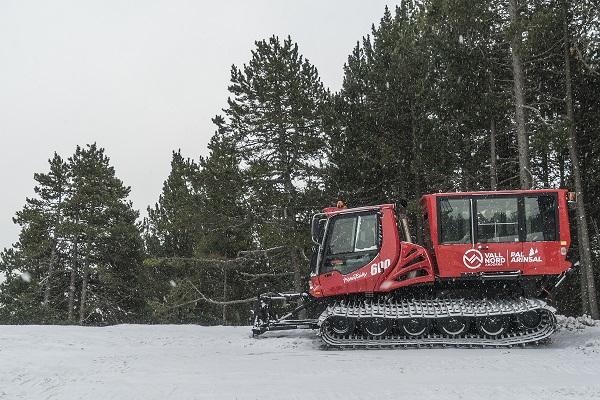 En Pal Arinsal el cuidado de la nieve es una de las principales prioridades