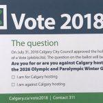 El referéndum ha dicho no a la candidatura de Calgary a los Juegos de Invierno de 2026