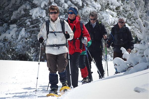 En el Espacio Nórdico de Capcir el esquí tranquilo impone su ritmo