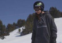 Grave lesión de María Hidalgo entrenando en el glaciar de Stubai