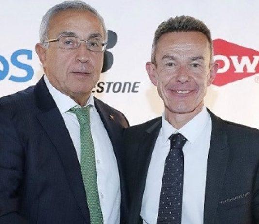 Alejandro Blanco, presidente del COE, y Pere Miró, director general adjunto del COI. FOTO: MARCA