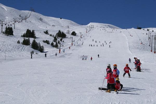 Porté Puymorens estrena pista de nieve sin pisar