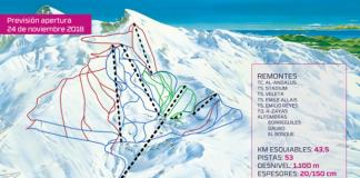 Área esquiable con previsión de apertura