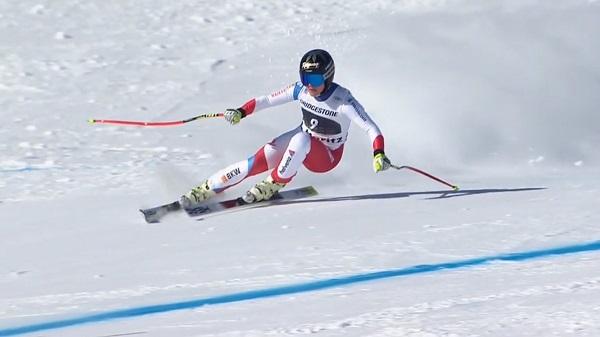 Con su segunda plaza, Lara Gut ha logrado su mejor resultado esta temporada