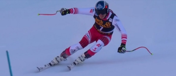 Matthias Mayer, segundo, ha logrado su mejor resultado de la temporada.