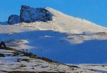 Vista del Veleta y Virgen de las Nieves esta semana
