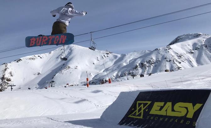 El snowpark de la estación ribagorzana ha hecho las delicias de los riders