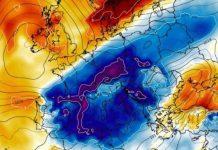 La masa fría ártica ha llegado de pleno a la Península