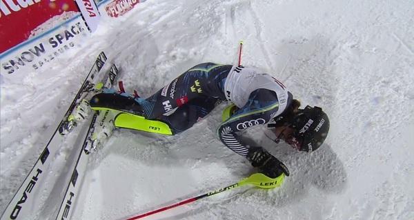 Anna Swenn Larsson no ha podido con la presión. Ha cruzado la meta sabiéndose derrotada y al poco ha sido descalificada.