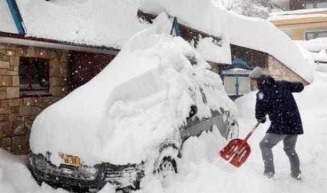 Ola de frío en centro de Europa